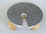 Keyhole Terrazzo Table
